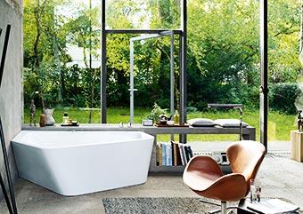 Sanitärtechnik - Badsanierung & Gestaltung moderner Bäder - Energie + Wärmetechnik Ebringen